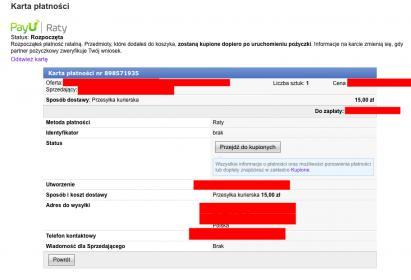Odstapienie Od Umowy Zakupu A Niezrealizowana Umowa Kredytowa Allegro Forum Kredytowe Pl